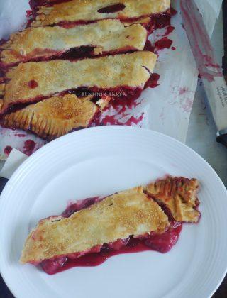 Slab Berry pie