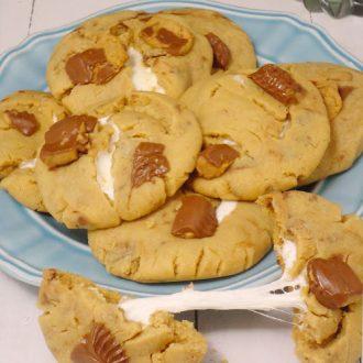 peanut butter marshmallow cookies