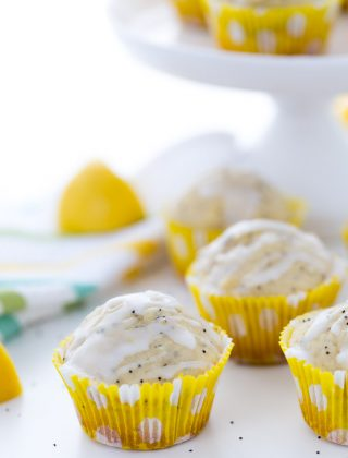 Moist and packed with fresh lemon zest and lemon juice, these dairy free lemon poppy seed muffins are delicious, easy to make (one bowl) and a great recipe.