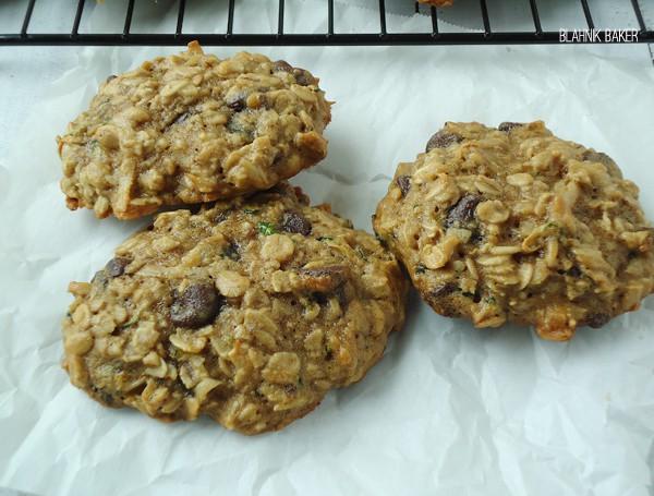 Zucchini Coconut Chocolate Chip Cookies - Blahnik Baker