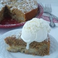Brown Butter Ginger Apple Torte