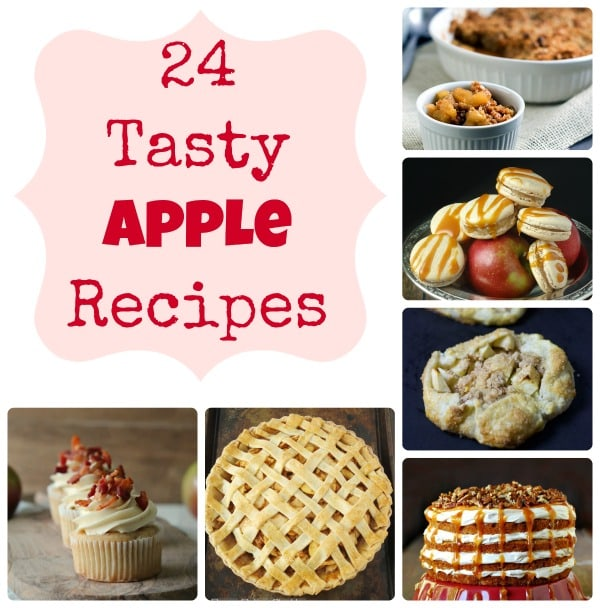 24 apple recipes