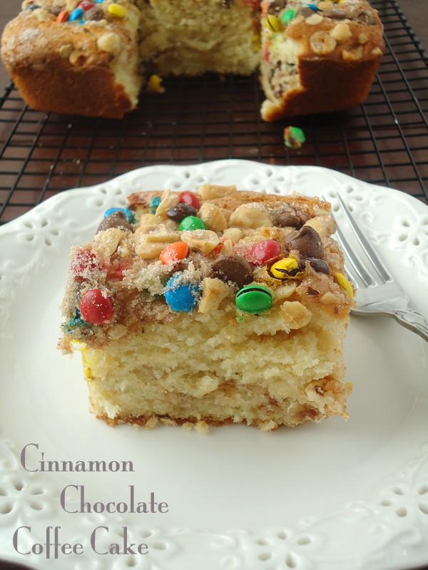 Cinnamon chocolate coffee cake recipe #shop   BlahnikBaker.com