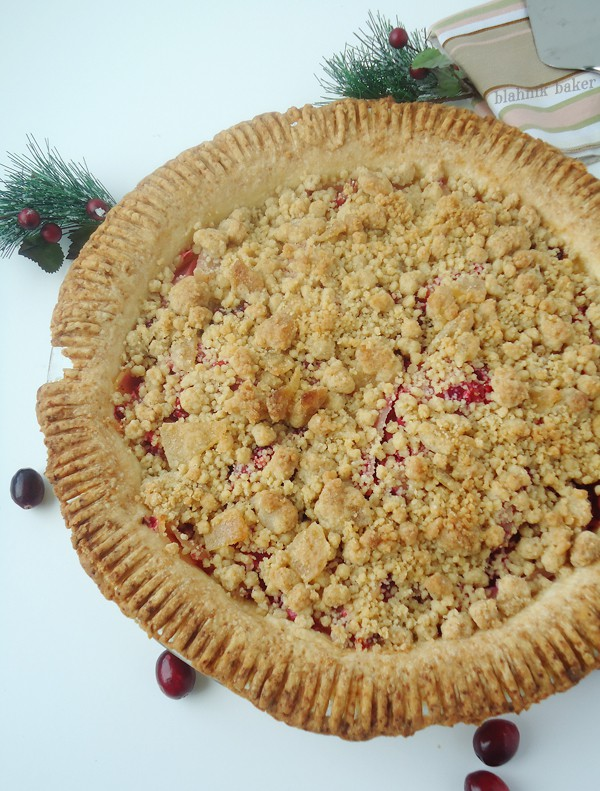 Cranberry Ginger Pear Pie | Blahnik Baker