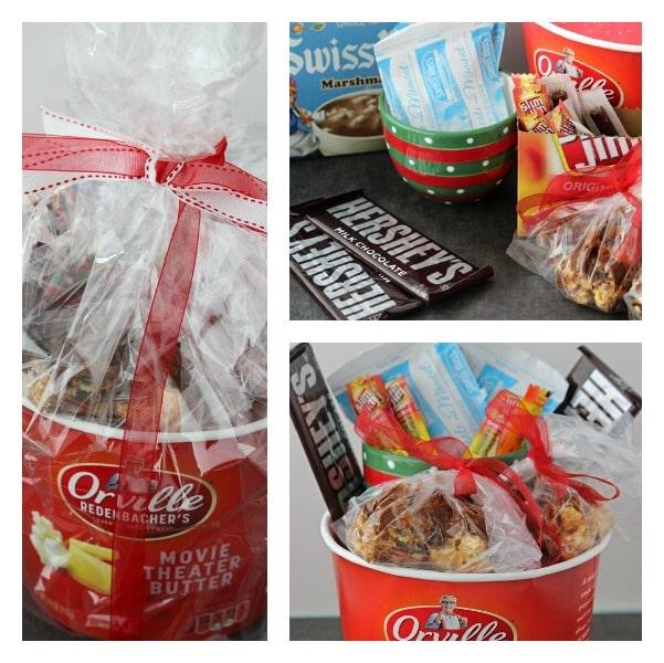 hot chocolate popcorn balls #shop