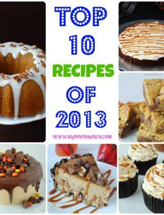 top 10 recipes of 2013