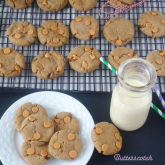 Butterscotch Gingersnap Molasses Cookies | BlahnikBaker.com