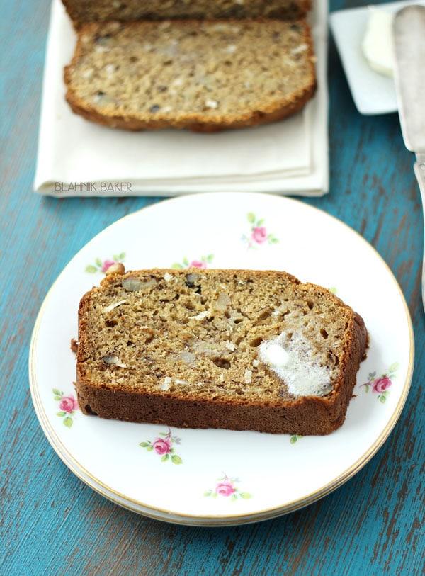 Banana Coconut Bread - Blahnik Baker