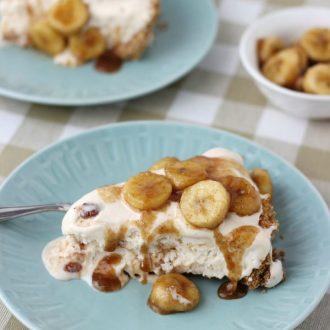 Banana Foster Pie