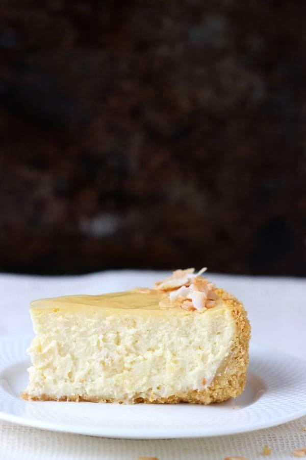 Piña Colada Cheesecake   BlahnikBaker.com