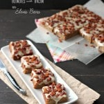 Peanut Butter Banana Blondies with Bacon, aka Elvis Bars {Guest Post}
