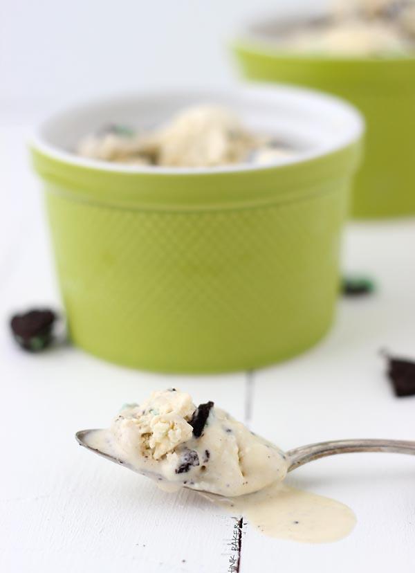Baileys Mint Oreo Ice Cream