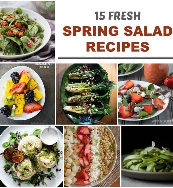 15 fresh spring salad recipes