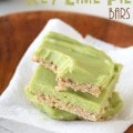 Skinny Vegan Key Lime Pie Bars