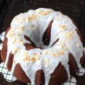 Chocolate Coconut Pound Cake