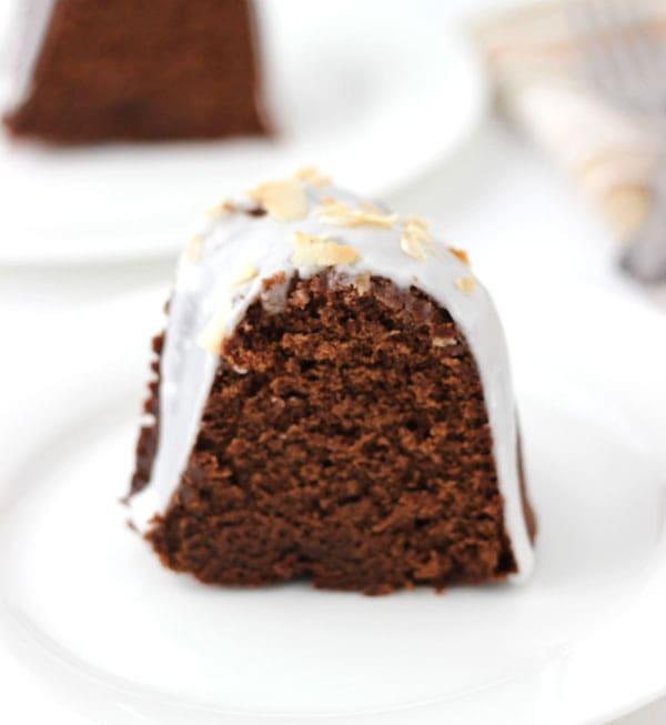 Chocolate Coconut Pound Cake