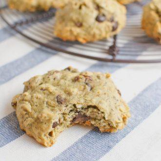 Oatmeal Raisin Chocolate Chip Walnut Cookies