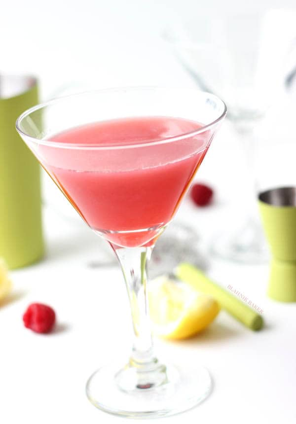Raspberry Rosewater Cocktail