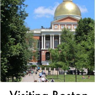 Visting the city of boston
