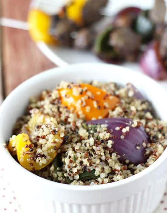 Grilled Steak and Vegetable Quinoa Salad