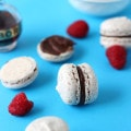 Hazelnut Macarons with Chocolate Chambord Ganache