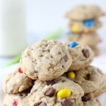 MM Toffee Chocolate Chip Cookies
