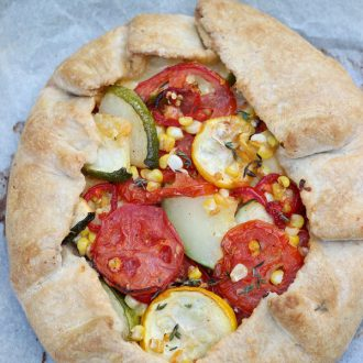 Summer Vegetable Galette