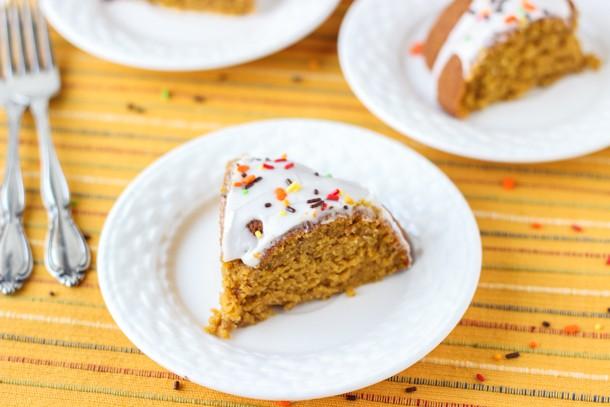 Brown Butter Pumpkin Coconut Cake
