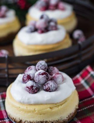 Eggnog Cheesecake with Gingersnap Crust