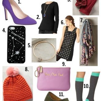 Holiday Gift Guide for the Fashionista