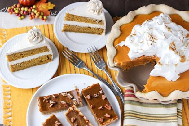 Three Thanksgiving Desserts
