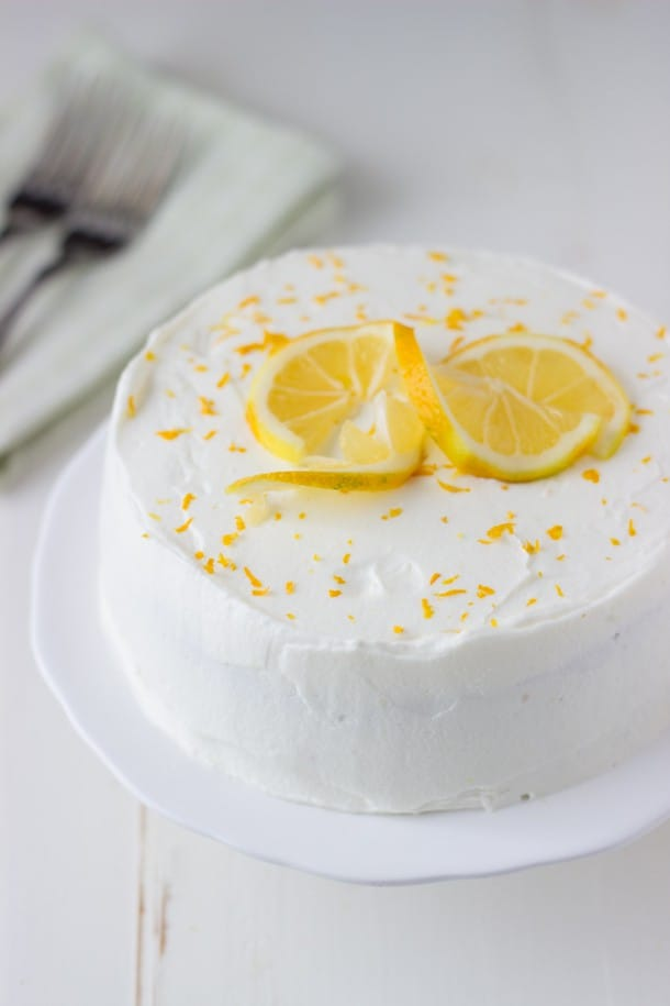 Lemon Poppy Seed Cake With Meyer Lemon Mousse Recipes — Dishmaps