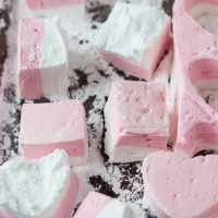 Blood Orange Coconut Marshmallows