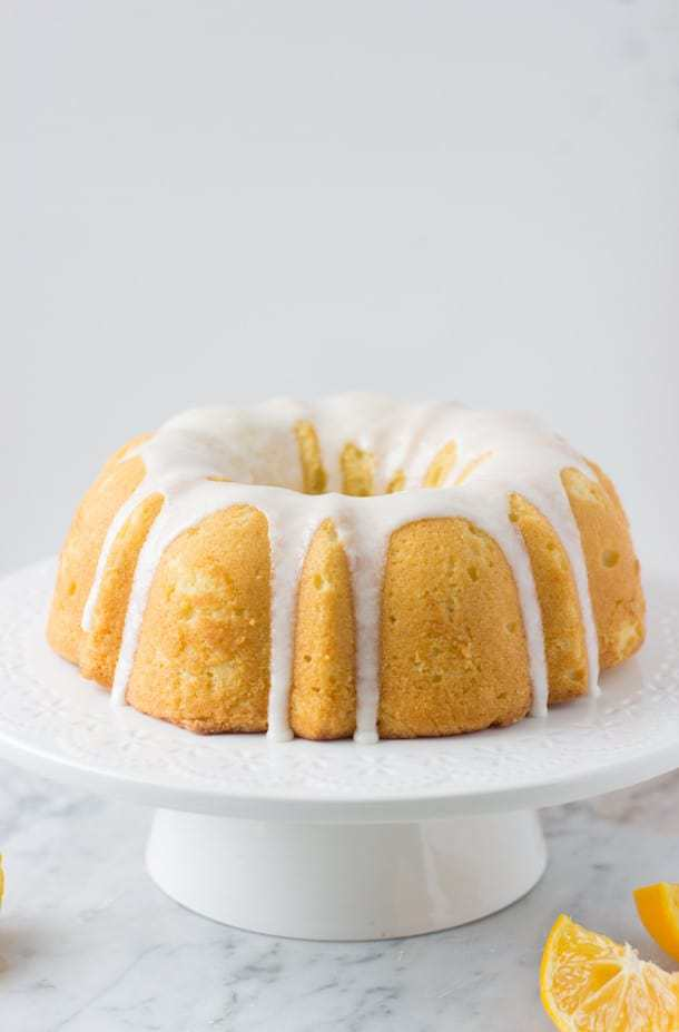 Meyer Lemon Olive Oil Cake - Blahnik Baker