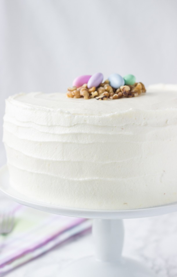 Classic Carrot Layer Cake With Vanilla Cream Cheese Frosting Recipes ...