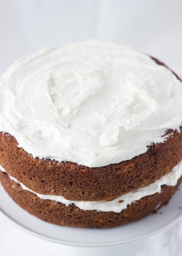 Classic Carrot Cake Recipe with Ginger Cream Cheese Frosting