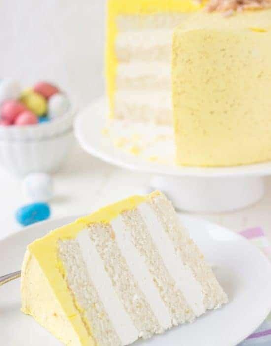 Coconut Lemon Cake