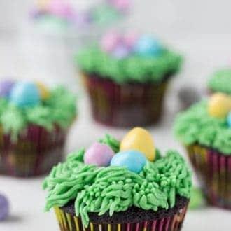 Easter Chocolate Cupcake Recipe
