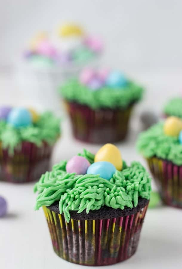 Easter Chocolate Cupcakes Recipe - a fun and Easter perfect recipe for everyone!