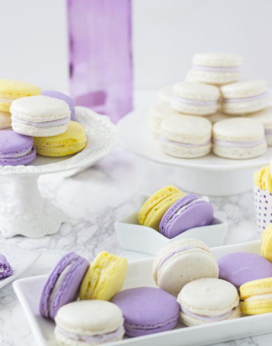 Lavender Honey Macarons