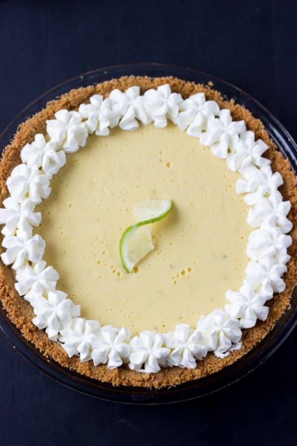Classic Key Lime Pie Recipe - creamy, luscious and perfectly tart with fresh key lime juice. | BlahnikBaker.com