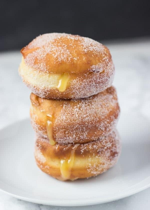Lemon Fried Donuts