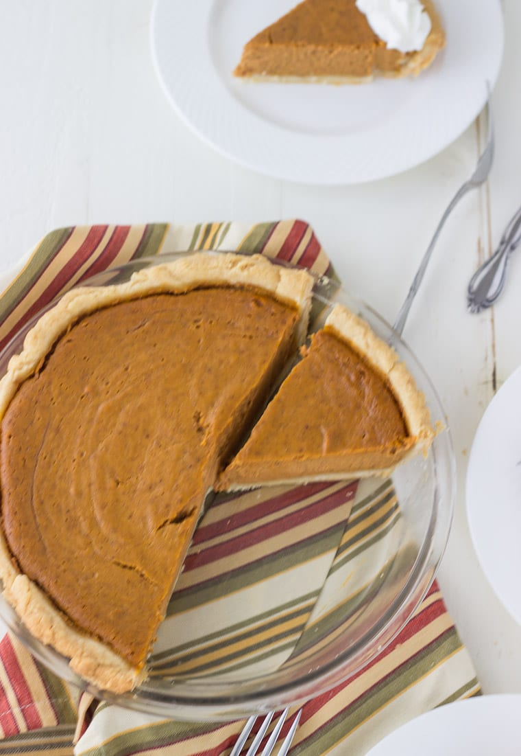 You need a classic pumpkin pie recipe to run to this holiday season.