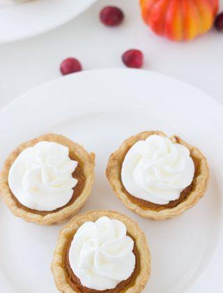 Mini Pumpkin Pie Tarts