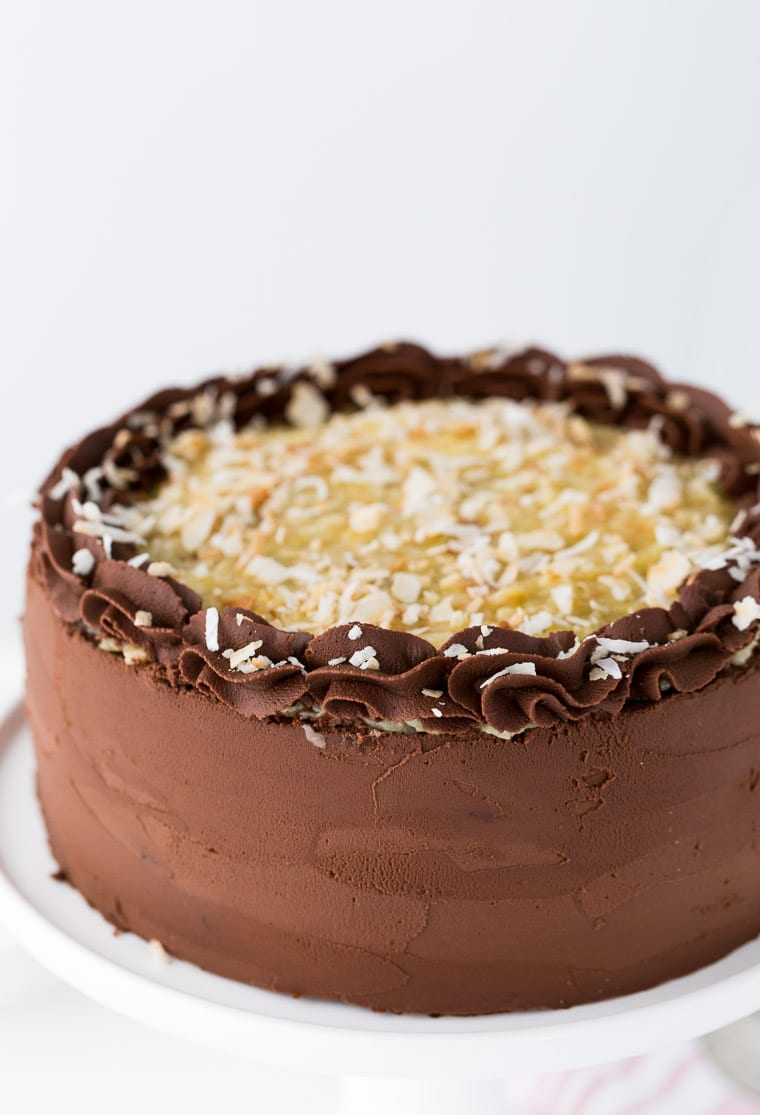 Inch German Chocolate Cake Recipe