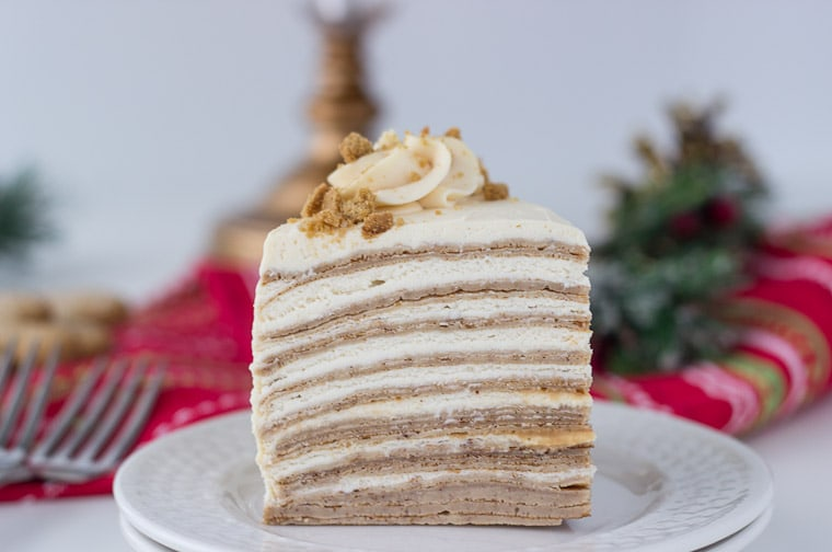 Gingerbread Crepe Cake own-4