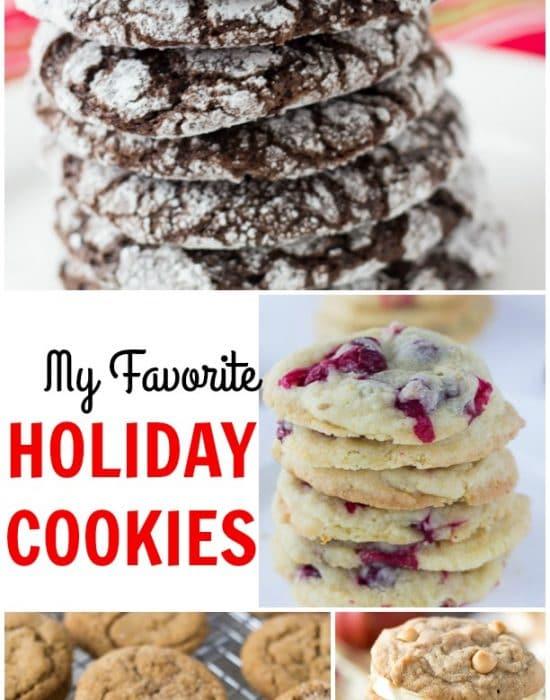 My favorite holiday cookies