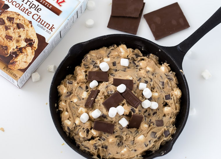 Skillet S'mores Cookie