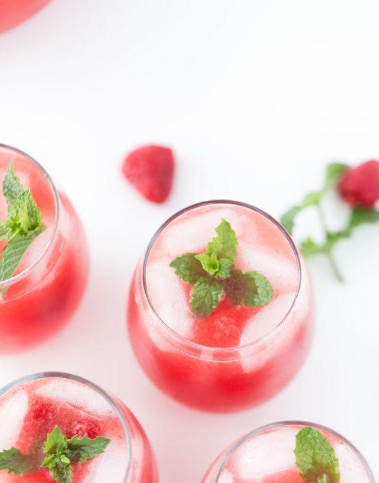 Refreshing watermelon sangria recipe