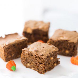 Mocha Butterscotch Brownies